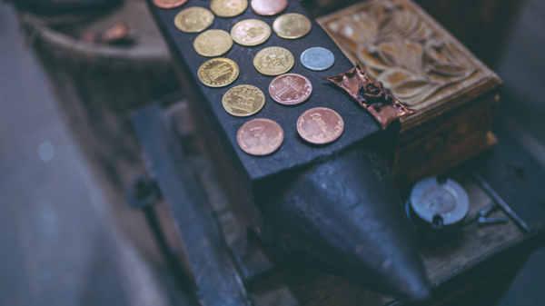 limpiar monedas euro