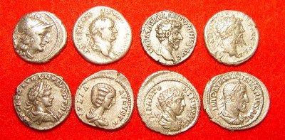 monedas romanas valor