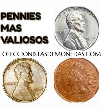 pennys de mas valor