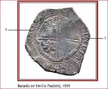 moneda macuquina de plata