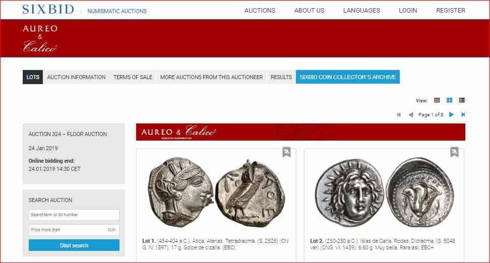 monedas antiguas su valor actual
