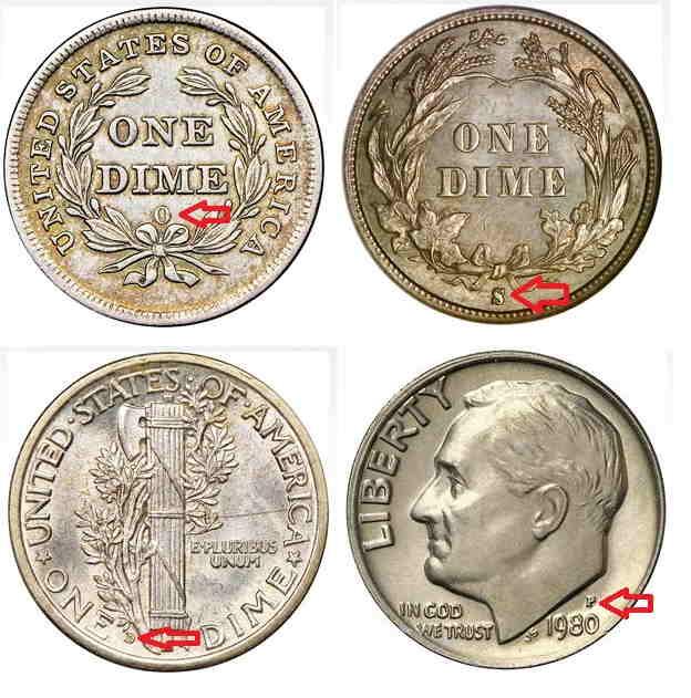 10 centavos estados unidos