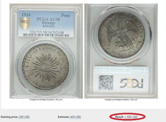 moneda muerta huerta