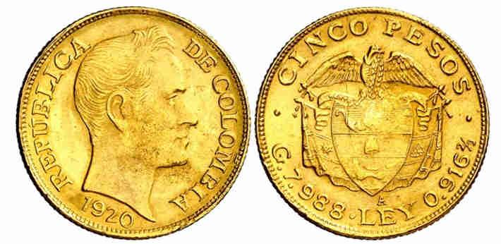 precio del kg de oro