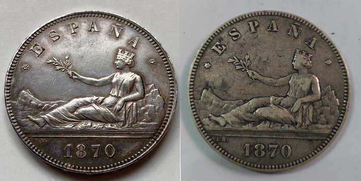 5.pesetas 1870