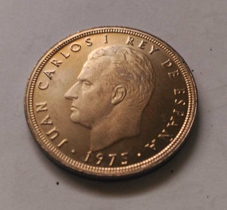 5 pesetas de 1870