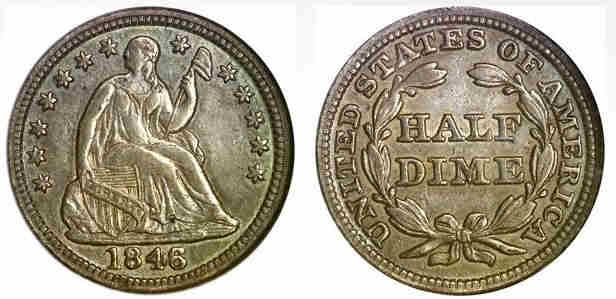 5 centavos de dolar 1964