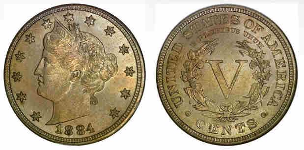 5 centavos estados unidos
