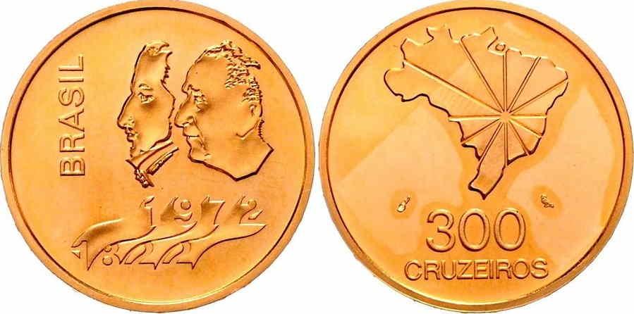 monedas cruzeiros