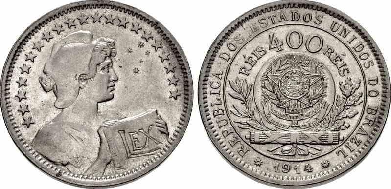 brasil monedas reis