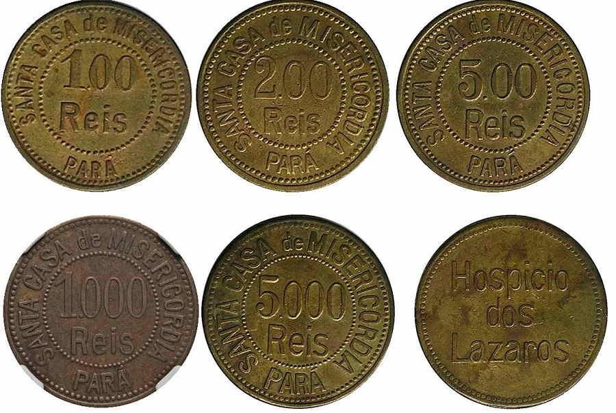 monedas brasileiras catalogo