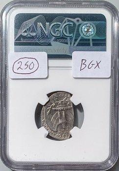 Quarter dollar 1967 Mint error MS63 55% straight clip 2.61g back
