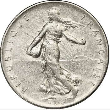 coins value dollar-french-franc