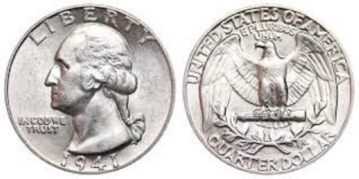 quarters worth money 1965 1941 silver