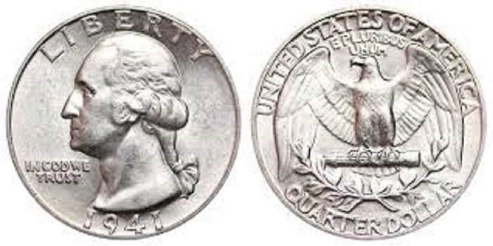 u.s. silver coins-Washington quarter dollar