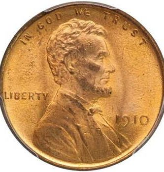 1910 penny coin value
