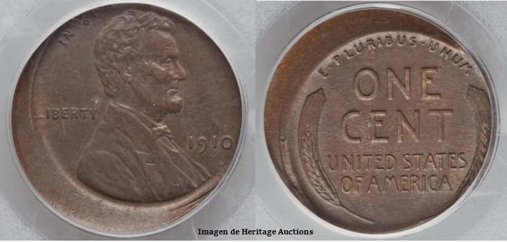 1910s penny off center