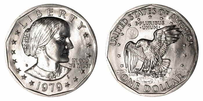 value of susan b. anthony dollar