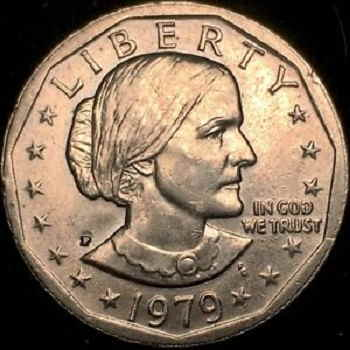 how much is a susan b anthony dollar worth