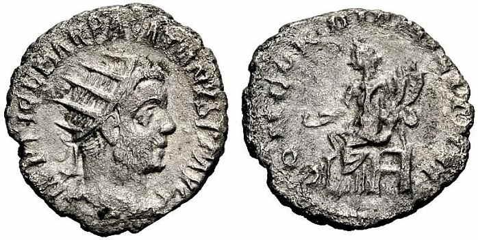 roman coins value-antoninianus-Pacatianus
