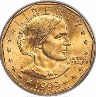 susan b anthony dollars value