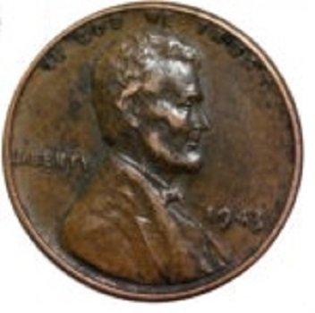 1943 penny coated