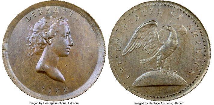 1792 Quarter Copper