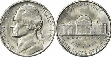 1940 Nickel S