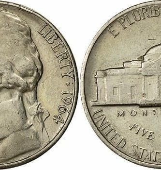 1964 Nickels value