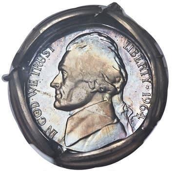 1964 nickels silver error