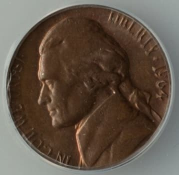 1964 nickels value 1C