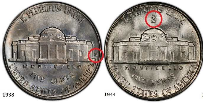 differences Jefferson Nickles