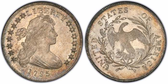 1795 silver dollar fake