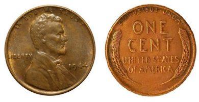 1944 wheat penny