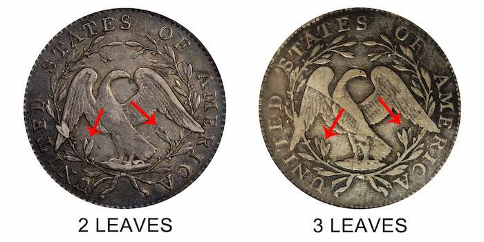 flowing hair dollar coin