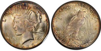 1923 silver dollar value - Liberty