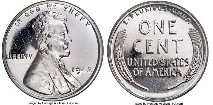 1942 penny worth alum