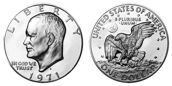 1971 Eisenhower Silver Dollar S Value
