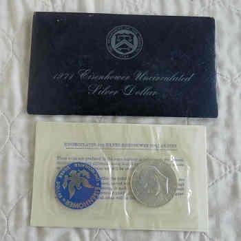 1971 d silver dollar