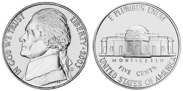 buffalo head nickel 2005