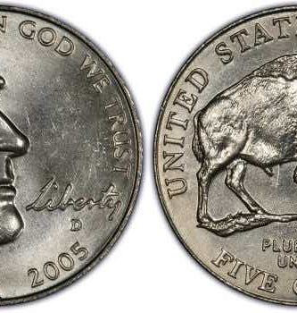buffalo nickel 2005 value