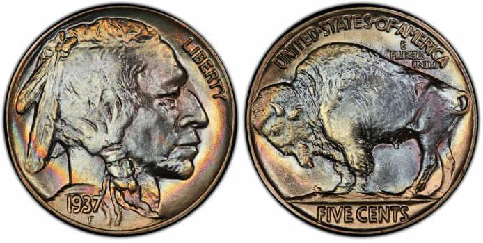 1937-Buffalo-nickels-value