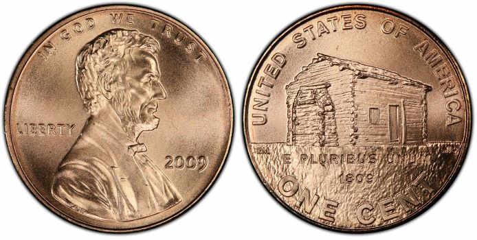 2009 pennies value