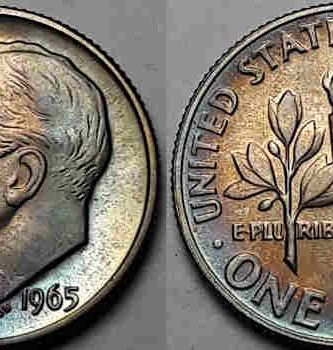 1965 dime value