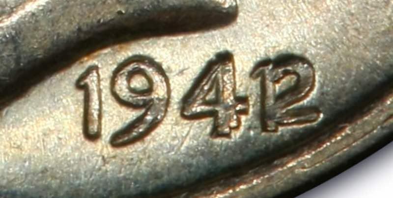 mercury dime 1942 value - over date