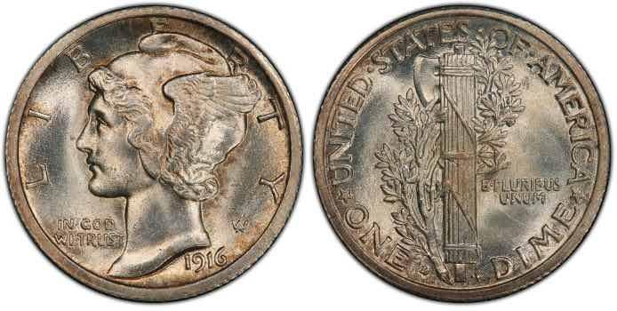 mercury dime value
