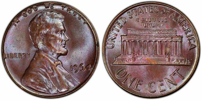 valuable 1964 penny