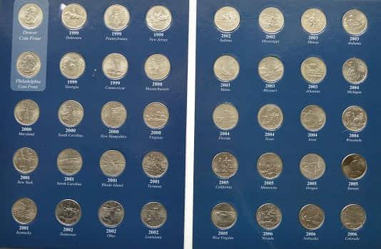 Coleccion completa quarters