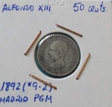 Ejemplo moneda catalogada
