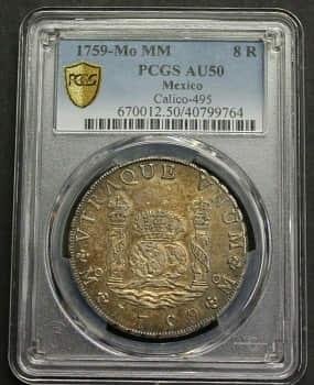 ejemplo de moneda catalogada